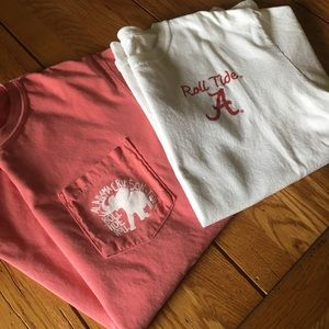 2 Alabama T-shirts